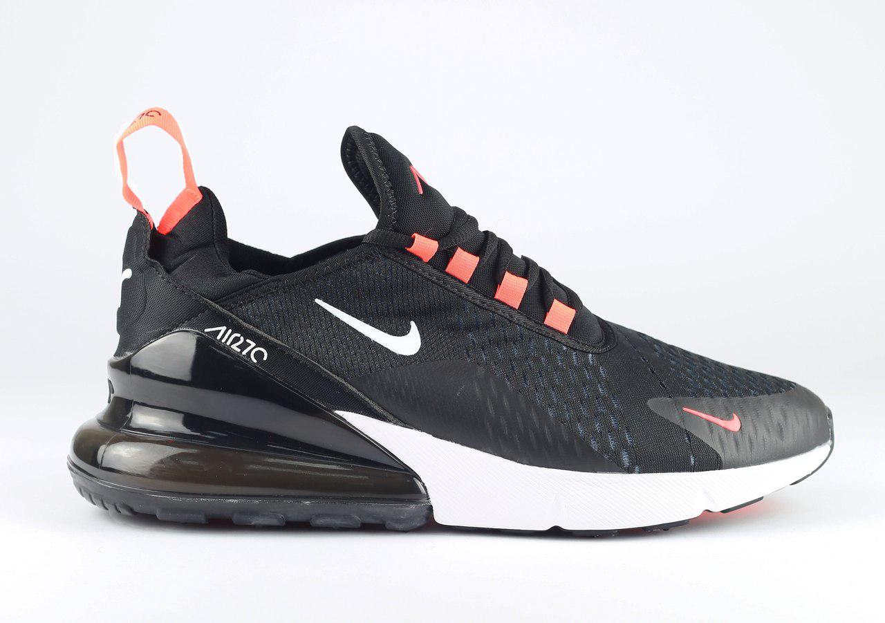 4b55c358 Мужские кроссовки Nike Air Max 270 темно-серые топ реплика - Интернет- магазин обуви