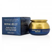 Омолаживающий питательный крем BERGAMO Royal Jelly Wrinkle Care, 50мл