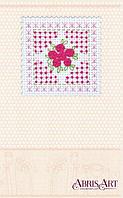 """Набор для создания открытки """"Рожева ніжність"""" (80 на 80мм) Артикул: AOH-010"""