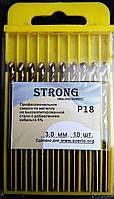 Сверло по металлу кобальтовое Р18 (HSS-Co5, Р6М5-К5) 3,0 мм