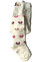 Колготы детские Design Socks  с рисунком, молочные, размер от 2 до 3 лет