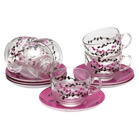 Чайный набор на 6 персон KASHIMA purple