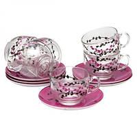 Чайний набір на 6 персон KASHIMA purple