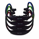 Беспроводные наушники sport mp3 плеер + fm, фото 3