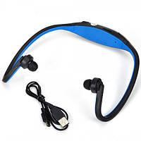 Беспроводной плеер-наушники mp3 sport + fm-радио, аккумулятор, поддержка microsd Sport MP3