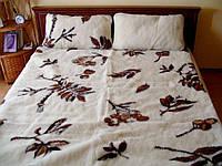 """Одеяло-плед из овечьей шерсти """"Eluna"""" (двуспальное), фото 1"""