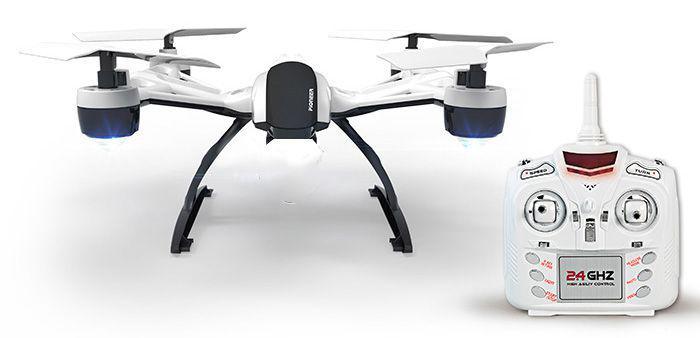 Квадрокоптер дрон среднего размера с удержанием высоты JXD Pioneer 509, очень стабильный и легкий в управлении