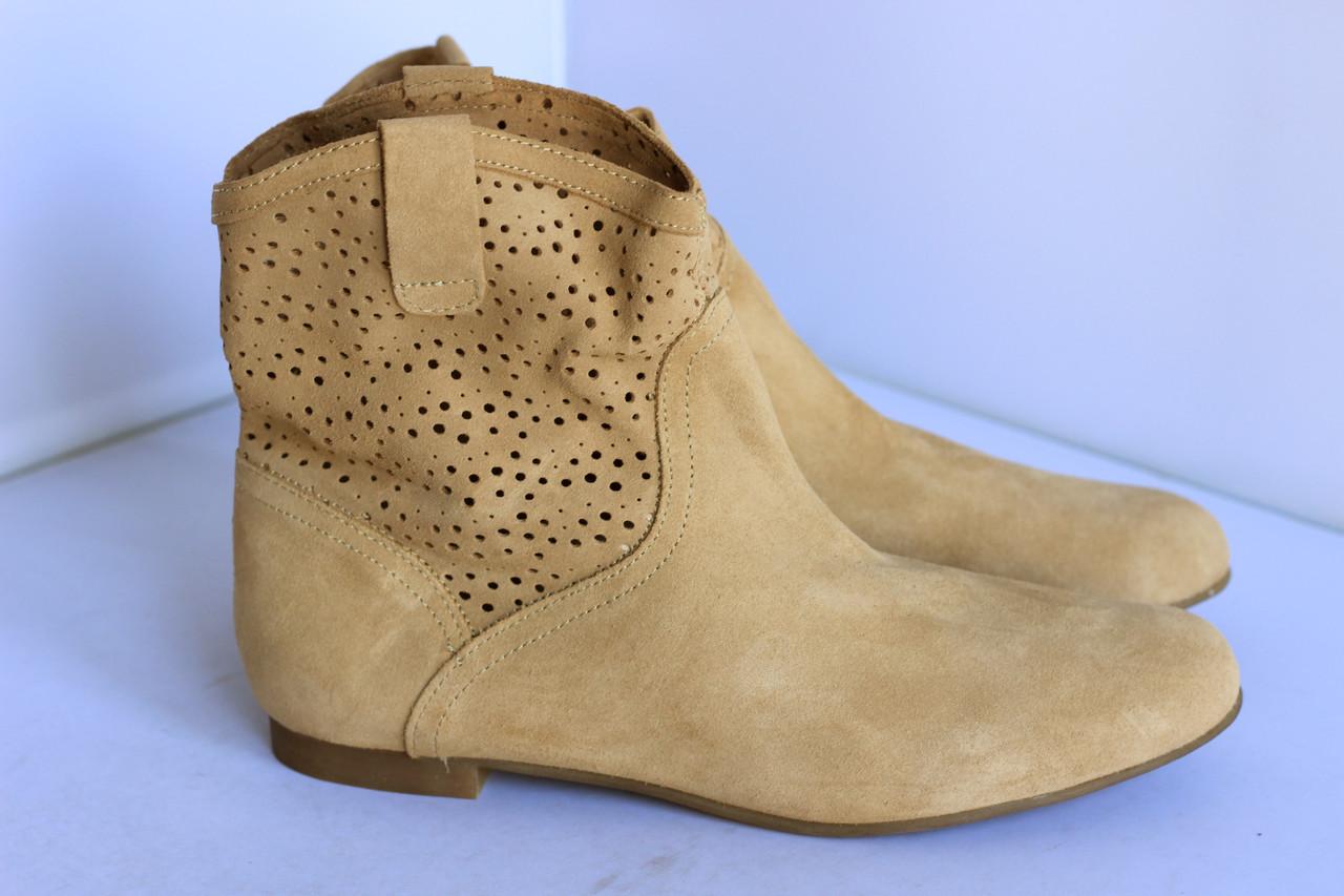 Женские замшевые ботиночки Creeks 41р.