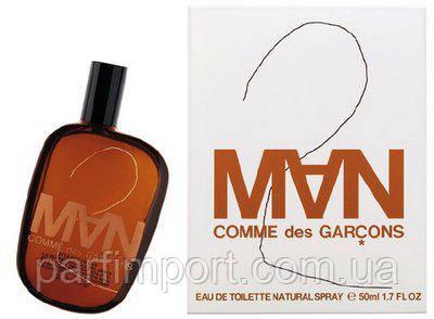 COMME DES GARCONS 2 Man EDT 50 ml  туалетная вода мужская (оригинал подлинник  Испания)