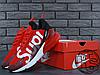 Мужские кроссовки Nike Air Max 270 Flyknit x Supreme Red/White, фото 5