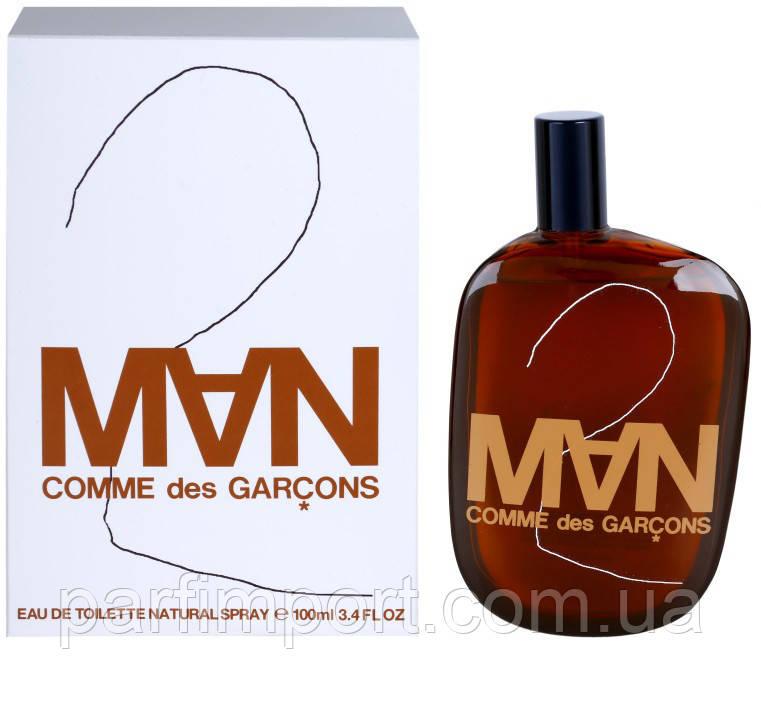 COMME DES GARCONS 2 MAN EDT 100 ml  туалетная вода мужская (оригинал подлинник  Испания)