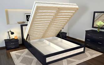 Кровать с подъемником  Рената Д 180х200(190) сосна