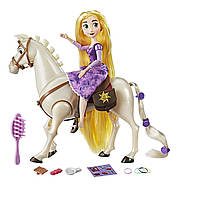 Кукла Disney Рапунцель и Максимус Запутанная история Disney Tangled the Series Rapunzel and Royal Horse Maximu
