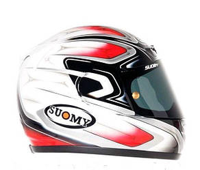 Легкий фирменный шлем CASCO SUOMY APEX COOL RED