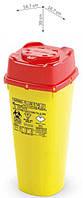 Контейнер для сбора игл и медицинских отходов CS PLUS 6H, 6 л