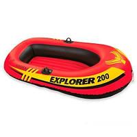 Лодка explorer 58330  надувная на 1 чел 185-94-41 см hn