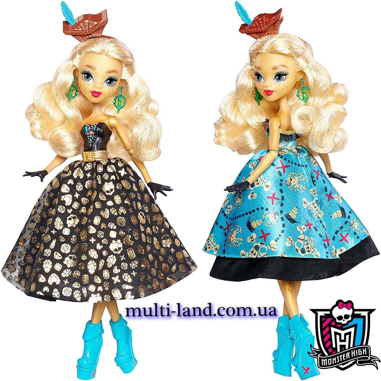 Кукла Монстр Хай Дана Трежура Джонс Кораблекрушение Monster High Shriekwrecked Dayna Treasura Jones Doll