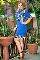 Платье №727 батал ГЛ, фото 1