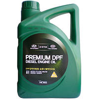 Моторное масло Mobis Premium DPF Diesel 5W-30 6л