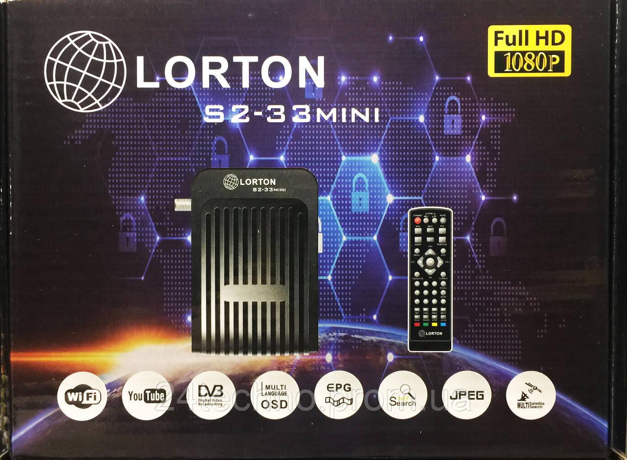 Спутниковый ресивер LORTON S2-33 mini HD