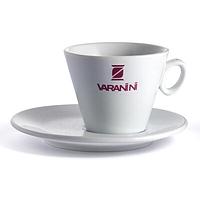 Фарфоровая чашка с блюдцем Varanini Cappuccino 150 мл