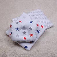 Набор детского постельного белья Звезды простынь звезды как одеяло