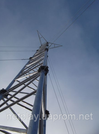 Мачта алюминиевая 660Ф  -  высота 33 метра, фото 2