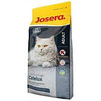 Josera Catelux корм для котов со склонностью к образованию комков шерсти, 10кг