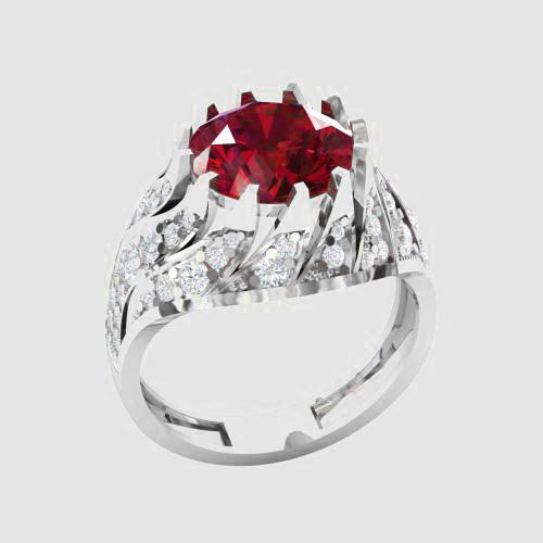 Кольцо  женское серебряное Кармен КН-1560