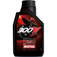 Моторное масло Motul 300V 4T Factory Line Road Racing 5W-30 1л