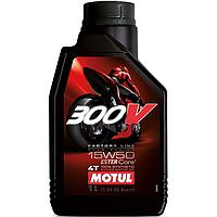 Моторное масло Motul 300V 4T Factory Line Road Racing 15W-50 4л