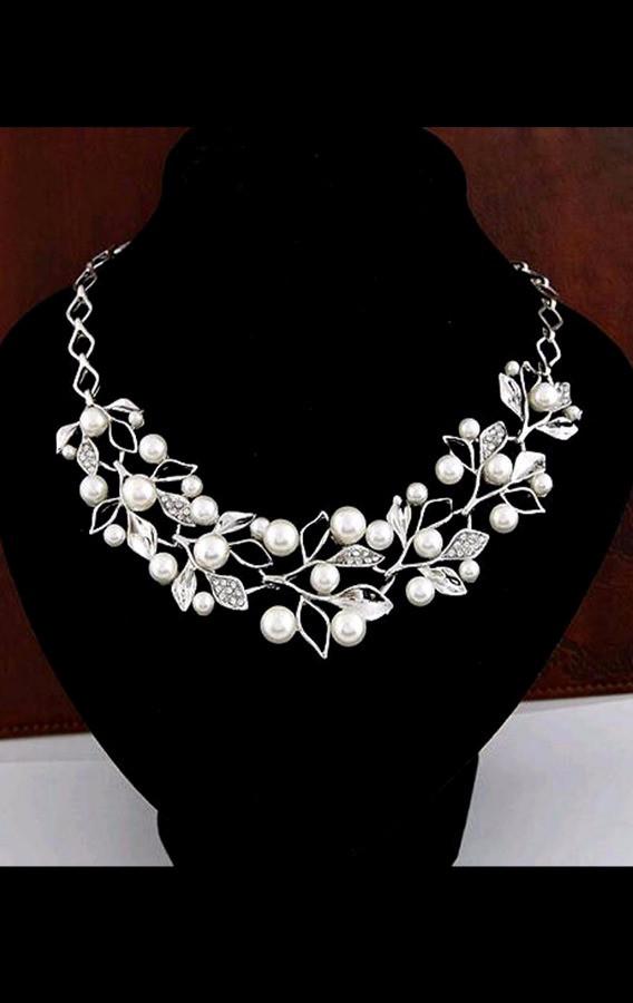 Оригинальное серебряное ожерелье ТБ-146