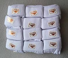 Детские белые носки для новорожденных 0-12 мес Турция 12 шт/уп