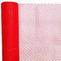 Сетка красная 55 см х  10 метров