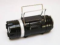 Кемпинговый фонарь Sb-9699 (солнечная панель, power bank), фото 1