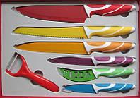 Набор ножей Super Lux с керамическим покрытием в коробке 1364, фото 1