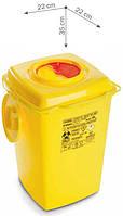 Контейнер для сбора игл и медицинских отходов NURSY, 10 л