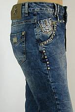Жіночі  джинси boyfriend з стразами   Speedway, фото 3