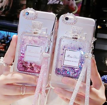"Huawei G700 чехол накладка бампер противоударный со стразами камнями TPU  для телефона "" MISS DIOR """