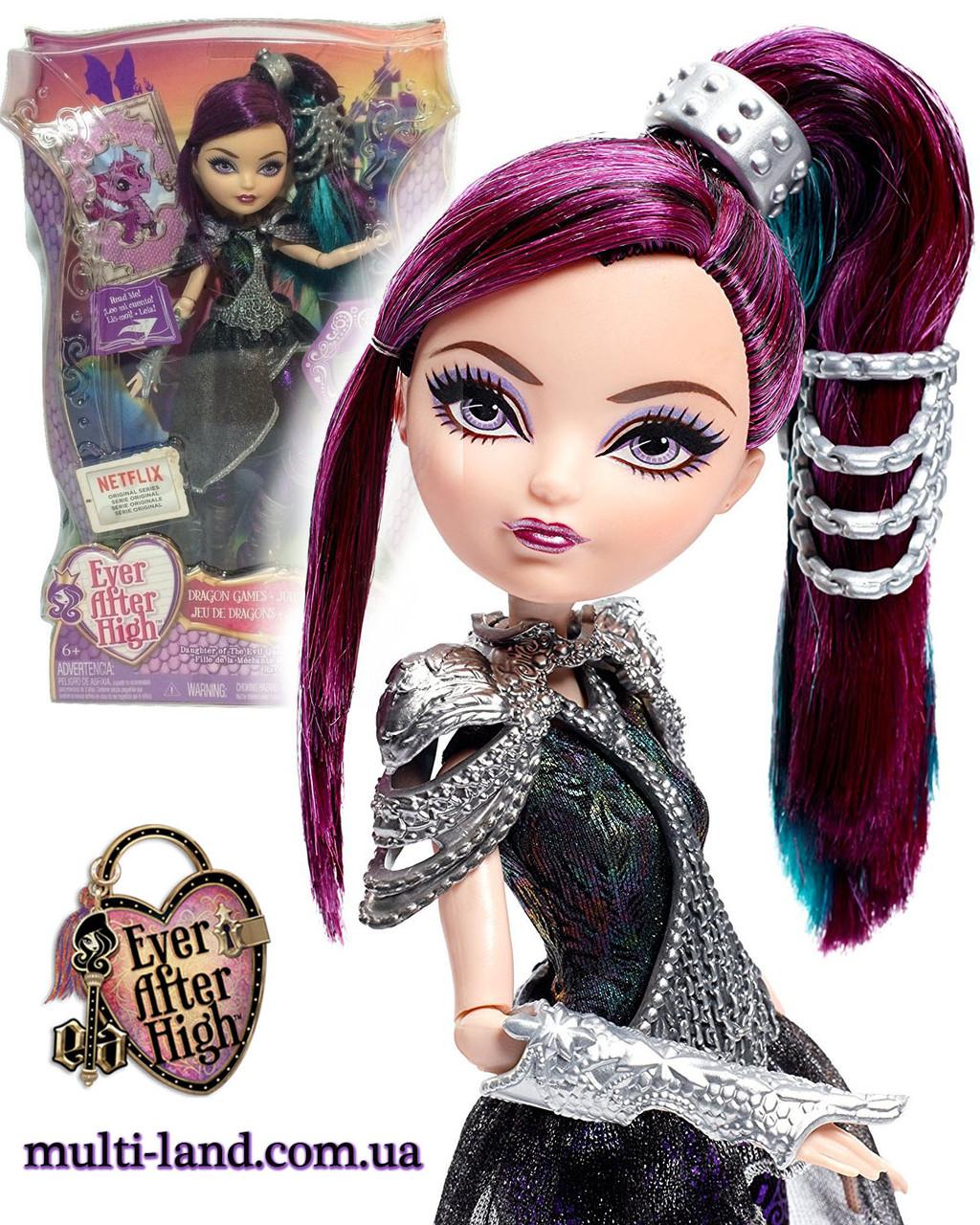 Кукла Эвер Афтер Хай Рэйвен Квин Игры драконов Ever After High Dragon Games Raven Queen Doll