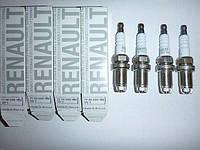 Свеча зажигания на Рено Логан, Логан MCV, Сандеро Stepway 1.6i 8V 1.4i 8V/ Renault ORIGINAL 7700500168