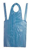 Фартук полиэтиленовый 80*125(голубой)50шт/уп Polix P&M