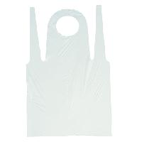 Фартук полиэтиленовый 80*125(белый)50шт/уп Polix P&M
