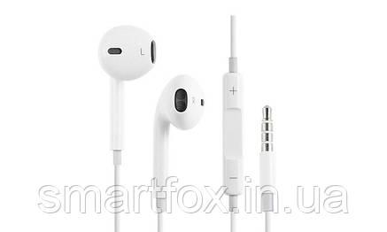 Наушники с микрофоном Iphone вкладыши, фото 2