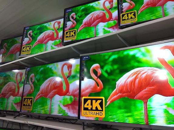"""LED Телевизор JPE 50"""" Smart TV 4K UHD, WiFi, 1Gb ОЗУ, 4Gb В.П., T2, USB/SD, HDMI, VGA, Android 4.4, фото 2"""