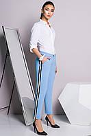 Офисные голубые брюки, фото 1