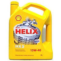 Моторное масло Shell Helix Diesel HX5 15w/40 1л