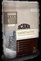 Сухой беззерновой корм Acana LIGHT & FIT (для собак с избыточным весом от года),  2 кг.