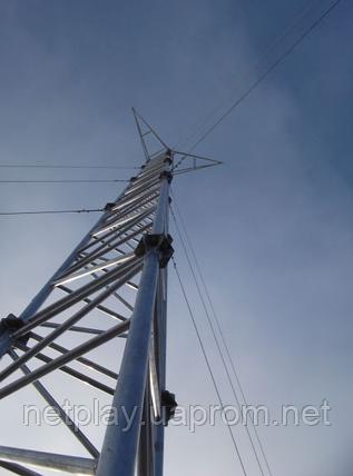 Мачта алюминиевая M650FL  -  высота 42 метра, фото 2