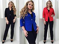 Классический женский пиджак 48,50,52р.